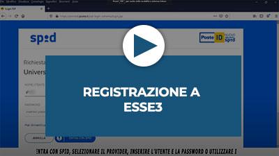 Video tutorial: Registrazione a ESSE3